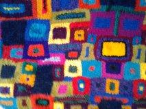 close up of shawl