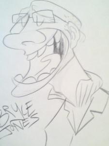 Bryce's Caricature
