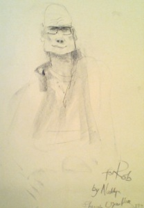 Nadia's Caricature